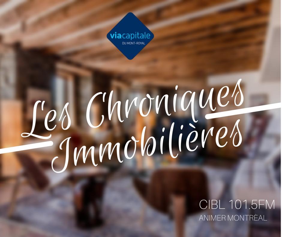 Chronique immobilière: le marché de la location à Montréal.