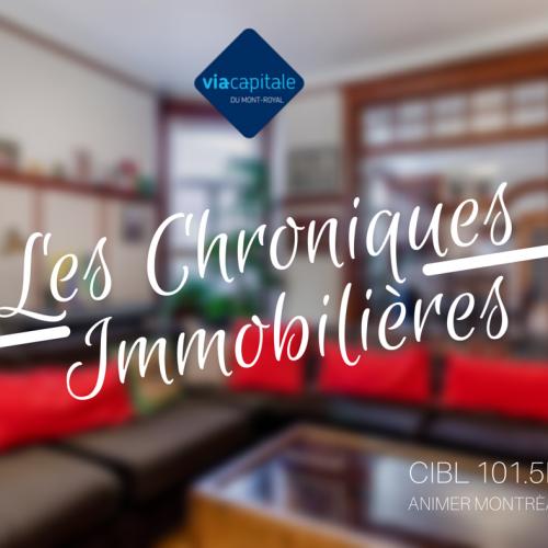 Chronique immobilière avec Nathalie Clement:  Vous vendez votre propriété?