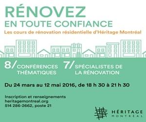 L'ABCdaire de la rénovation par Héritage Montréal